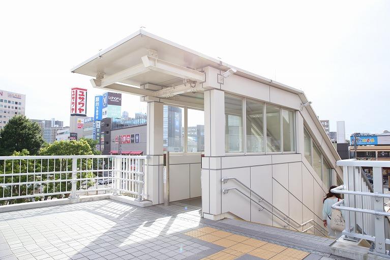 津田沼駅から徒歩2分とアクセス良好